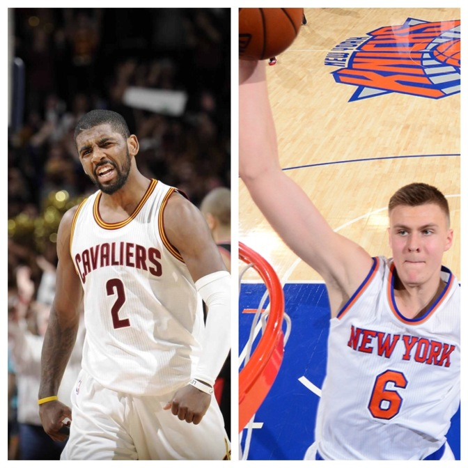 Kyrie and Kristaps